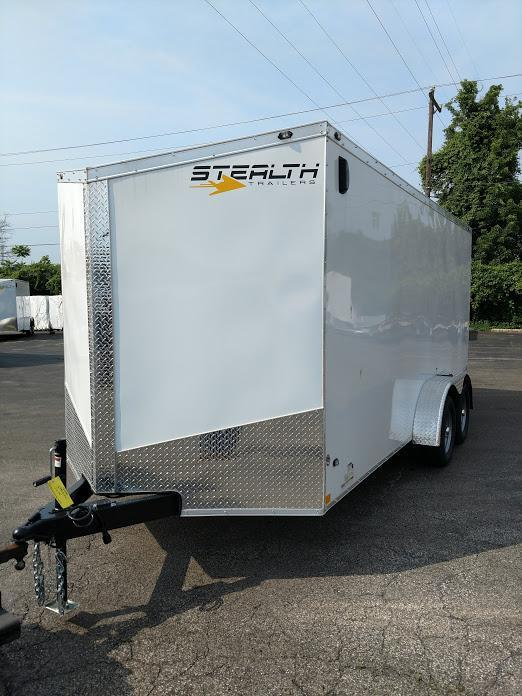 2019 Stealth Trailers 7X16 Titan STT Enclosed Cargo Trailer