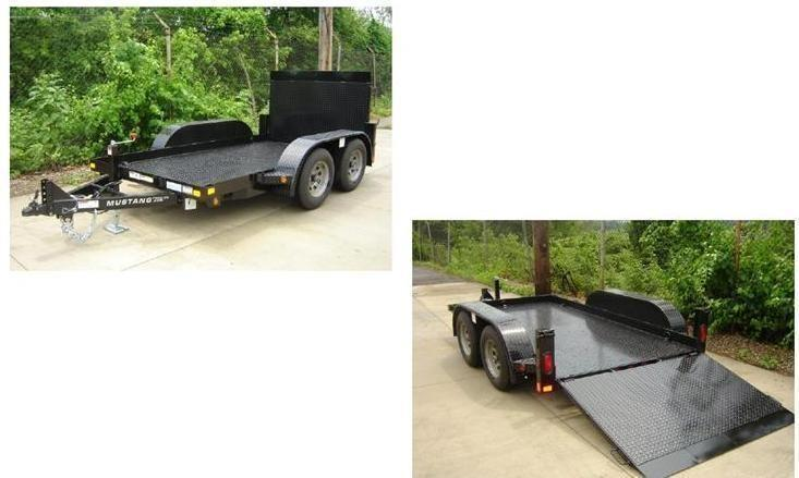 2019 Mustang Trailers 610MA7000G Equipment Trailer