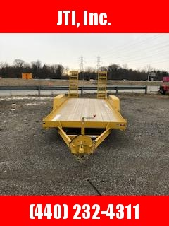 2018 CAM Superline 18' Equipment Trailer