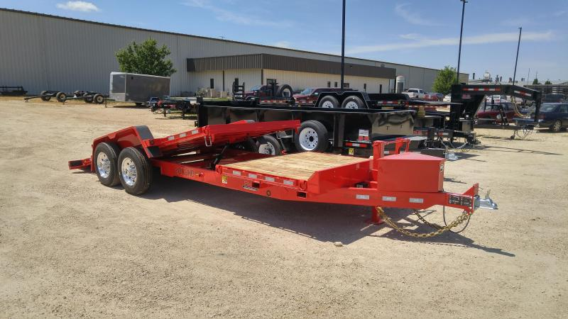 2019 Behnke TBCT2220ET Equipment Trailer