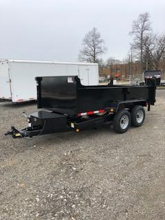 "2019 Quality Steel 72"" x 12' Dump Trailer"