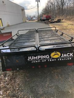 2014 Jumping Jack 6' x 8' Camping RV Trailer