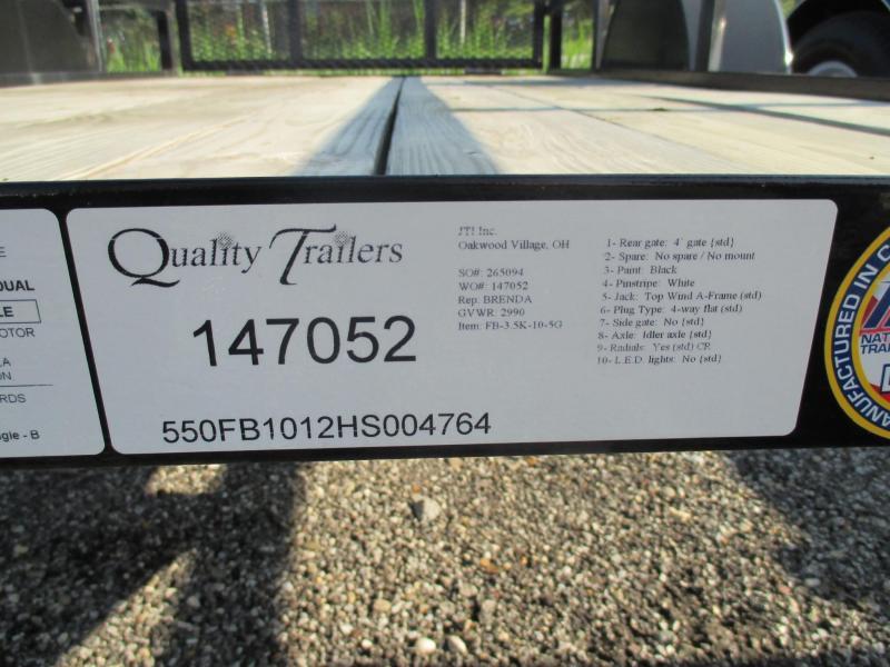 2017 Quality Trailers 5' x 10' Utility Trailer