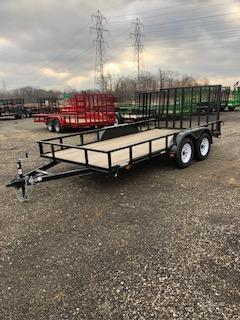 2018 Carry-On 7' x 14' Utility Trailer