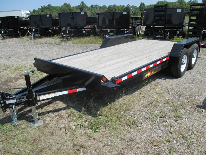 2016 Midsota 18' Equipment Trailer