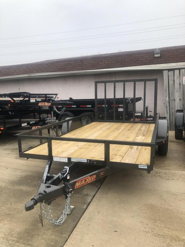 2019 MAXXD 77x12 S3X Utility Trailer in Ashburn, VA
