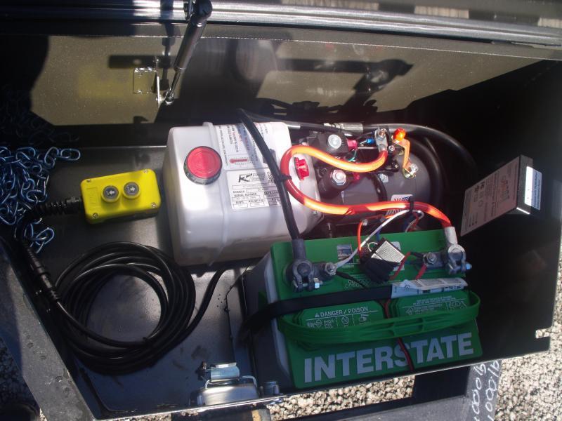 Tilt Trailer Power Tilt 83 X 20  9990 GVW