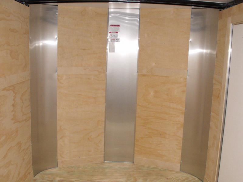 Enclosed Trailer 7 X 12 Ramp  7000 GVW ALL Tube Construction