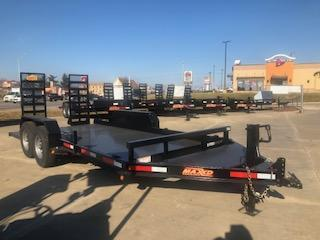 2019 MAXXD B6X 81X16 14K GVWR Equipment Trailer
