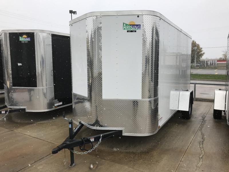 2018 Arising 6 x 12 Single Axle Cargo / Enclosed Trailer