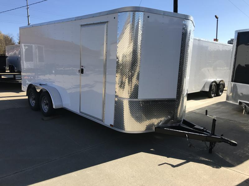 Enclosed Trailer 7 X 16 Ramp 7000 GVW ALL TUBE Construction