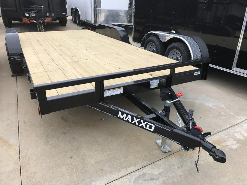 Car Hauler 83 X 18 Ramps 7000 GVW