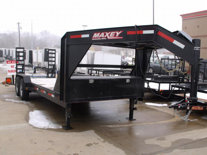 Used Gooseneck 83 X 20 Box Ramps 14000 GVW