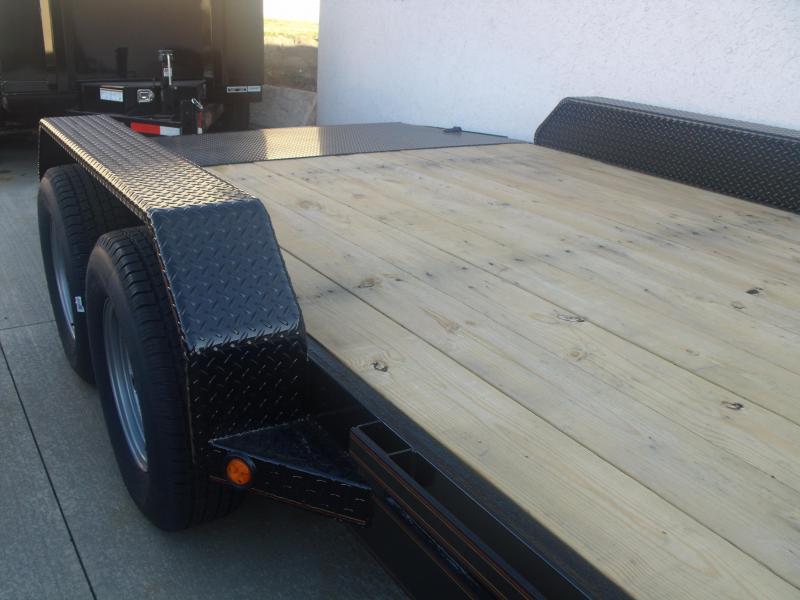 Car Hauler 83 X 18 Metal Dove 7000 GVW 4 WL Brakes