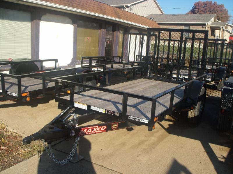 Utility Trailer 5 X 10 Front & Rear Folding Gate