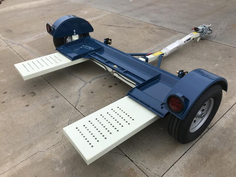 NEW    Stehl ST80TD Hydraulic Brake Tow Dolly