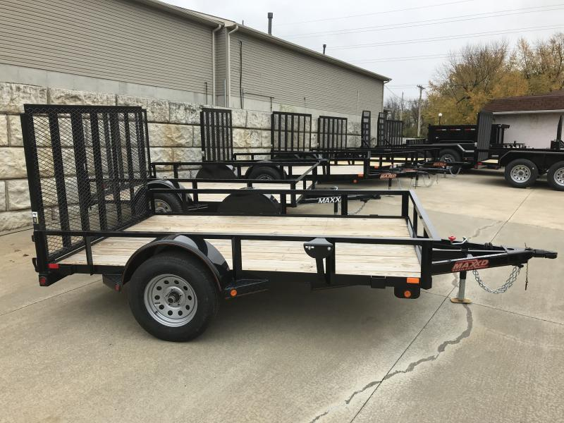 "2018 MAXXD 77"" x 10' Single Axle Premium Utility Trailer"