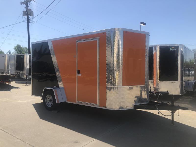 2019 Arising 7X12 WITH BRAKES Enclosed Cargo Trailer