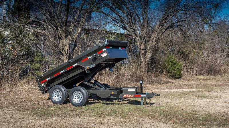 2018 MAXXD Tuff Side Dump Trailer