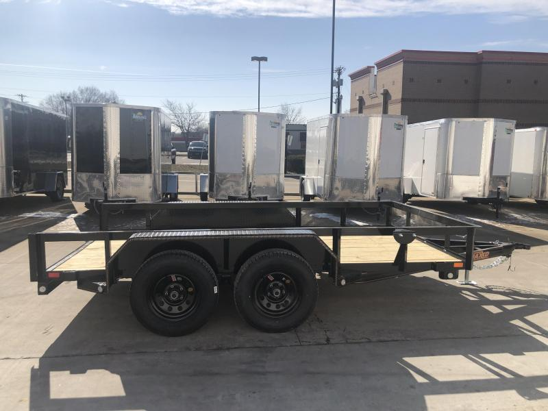 2019 MAXXD 77x12 U3X No Gate/No Ramps Utility Trailer