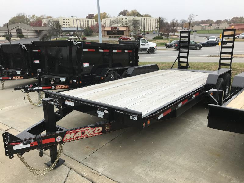 Equipment Trailer 83 X 20 9990 GVW Boxws Ramps