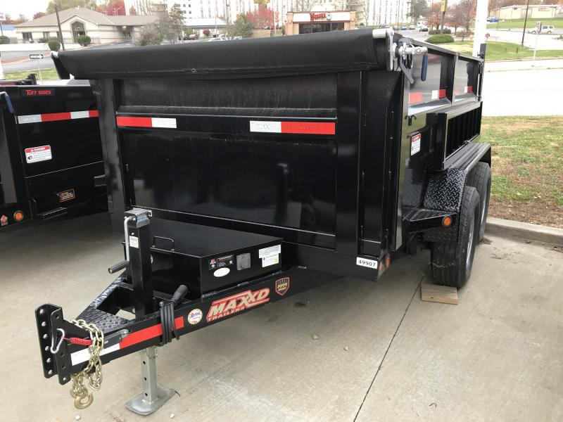 "2017 MAXXD 6' x 10' 3' Hi Wall ""Tuff Side"" Dump Trailer"