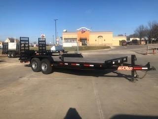 2018 MAXXD 83X20 14K GVWR Equipment Trailer