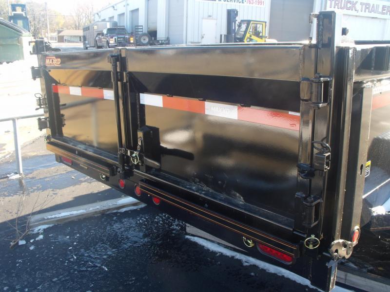 2018 MAXXD Dump Trailer 83 X 14 14000 GVW Combo Gate Dump Trailer