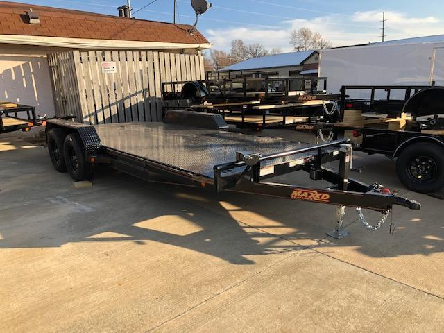 2019 MAXXD C5X 83X18 STEEL DECK CARHAULER Car / Racing Trailer