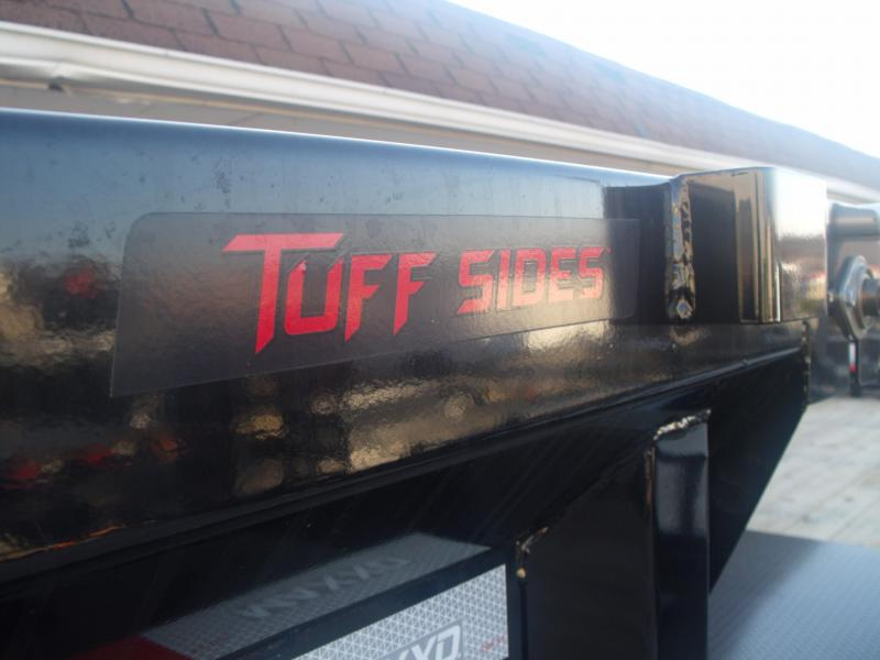 Dump Trailer 6 X 10 3; Walls MAXXD TUFF SIDE 12000 GVW