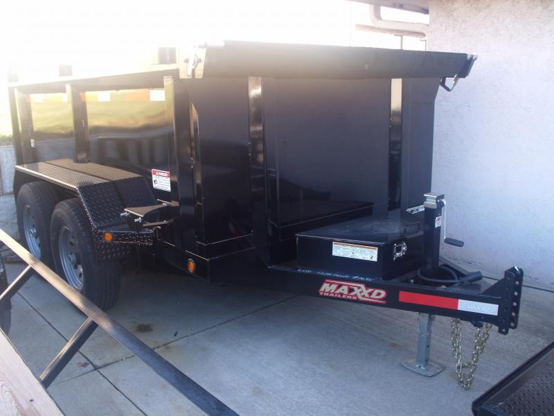 Dump Trailer 6 X 10 3; Walls MAXXD TUFF SIDE 12000 GVW