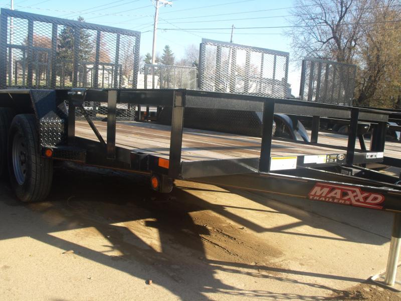 Utiity Trailer 77 X 12 Tandem Axle 7000 GVW 4 Wheel Brakes