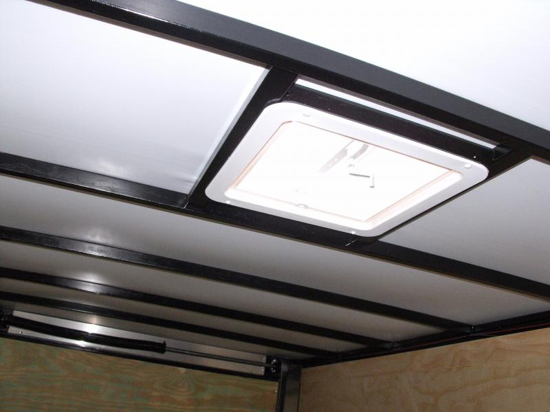 Enclosed Trailer 7 X 16 Ramp ALL Tube Construction