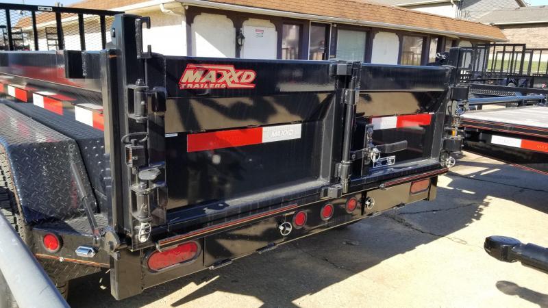 "2018 MAXXD Black 5' x 10' ""Tuff Side"" Dump Trailer"