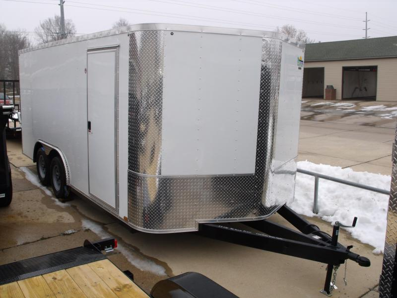 Enclosed Trailer 8.5 X 16 Ramp ALL Tube Construction