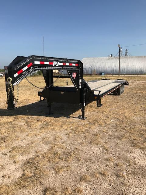 2019 PJ Trailers TDS32A2BSFKX Flatbed Trailer