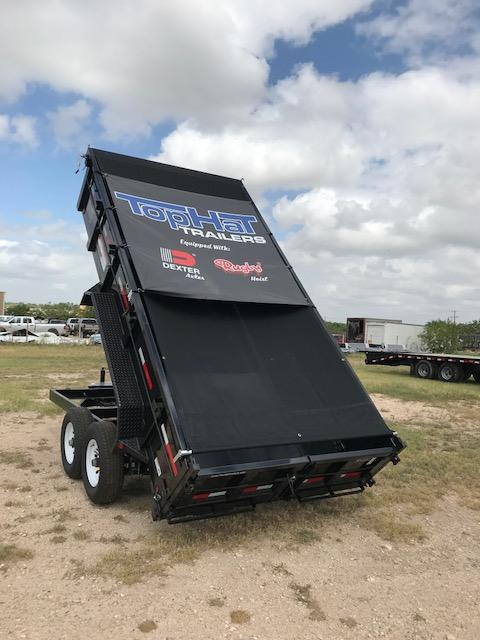 2018 Top Hat Trailers DP1407X14 Dump Trailer