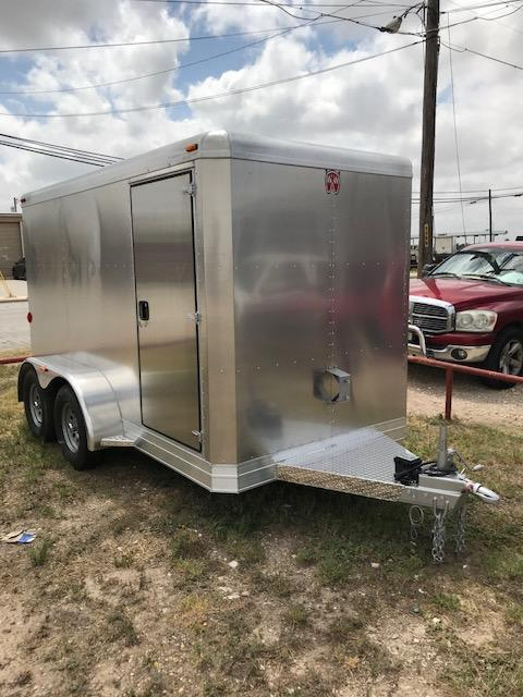 2018 W-W Trailer Aluminum Cargo Carrier Enclosed Cargo Trailer