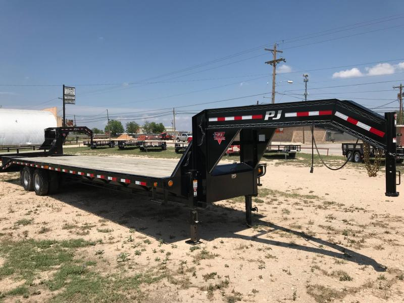 2018 PJ Trailers FDR28A2BSFKX Flatbed Trailer