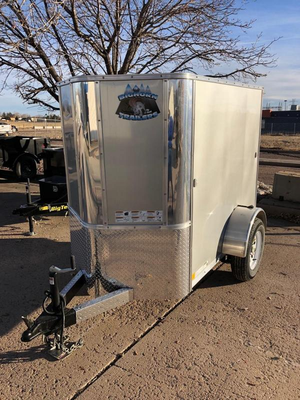 2019 R&M Manufacturing 4x6 TAC Enclosed Cargo Trailer-Wheat Ridge