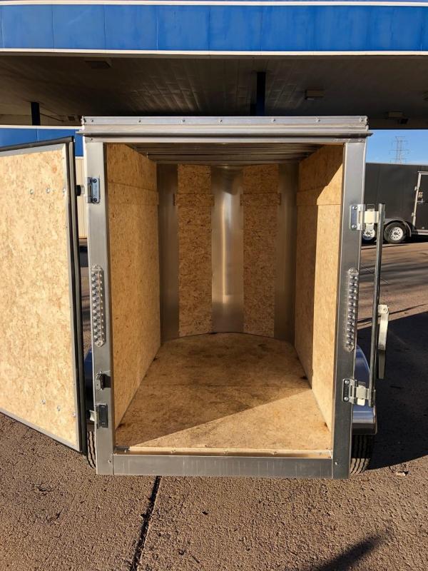 2019 R&M Manufacturing 4x6 TAC Enclosed Cargo Trailer-Wheat Ridge
