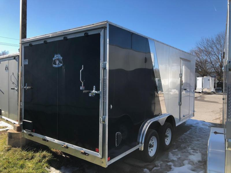 2019 R and M Manufacturing EC 8.5 16 TA Enclosed Cargo Trailer