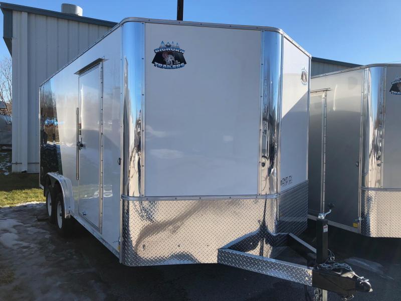 2019 R and M Manufacturing EC 8.5 16 TA Enclosed Cargo Trailer