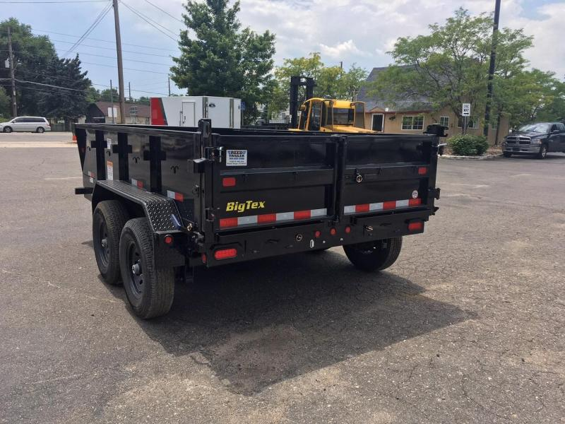 2019 Big Tex Trailers 14LX-12 w/Scissor Lift Hoist Dump Trailer-WHEAT RIDGE