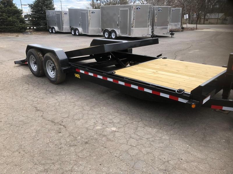 2020 Big Tex Trailers 14TL-22 Equipment Tilt Trailer