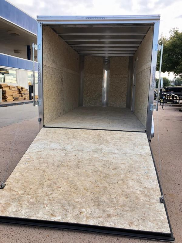 2019 R&M Manufacturing 7x14 TAS Enclosed Cargo Trailer-CO Springs