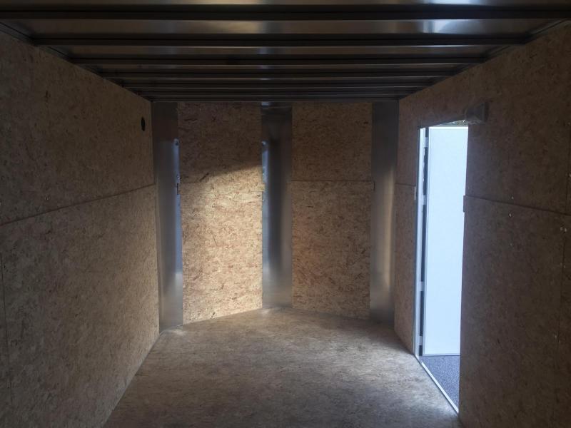 2019 R&M 7x16 Black Contractor V Enclosed Cargo Trailer