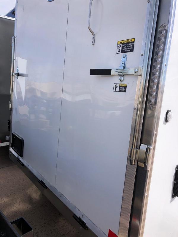 2020 R&M 7x12 v-nose TAS Enclosed Cargo Trailer-CO Springs