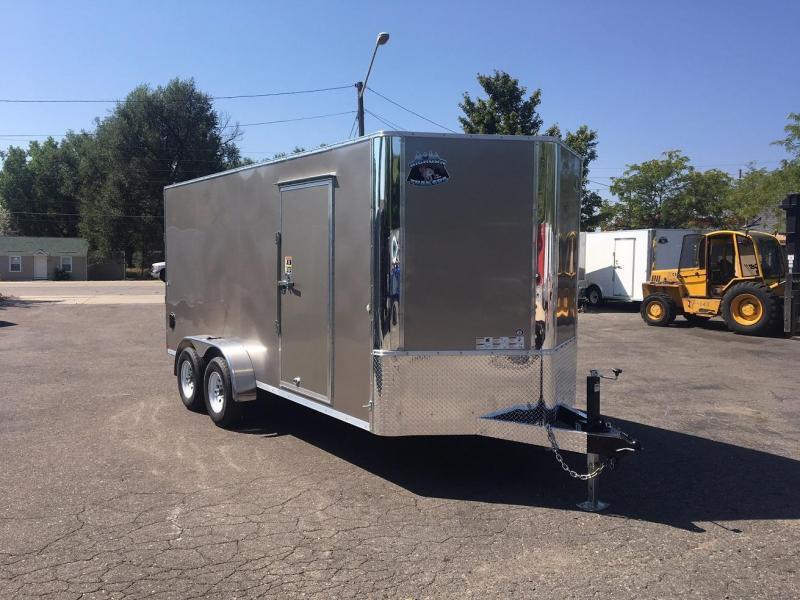 2019 R and M Manufacturing EC 7 16 TA (CONTRACTOR GRADE) Enclosed Cargo Trailer-WHEAT RIDGE