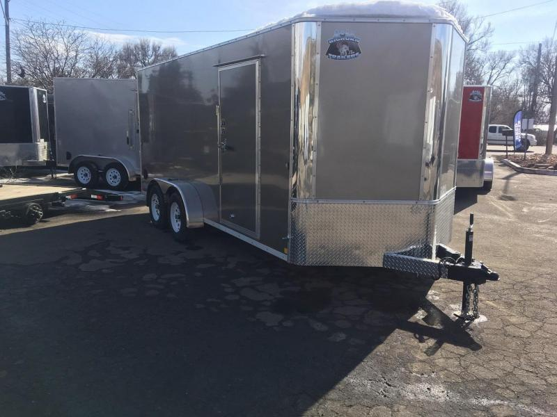 2020 R&M 7X16 V-NOSE TAC Enclosed Cargo Trailer